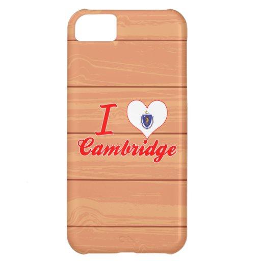 Amo Cambridge, Massachusetts Funda Para iPhone 5C