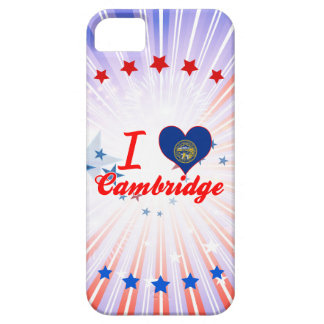 Amo Cambridge, Nebraska iPhone 5 Case-Mate Carcasa