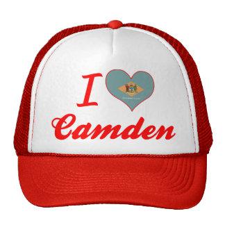 Amo Camden, Delaware Gorras De Camionero