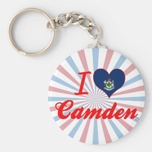 Amo Camden, Maine Llavero