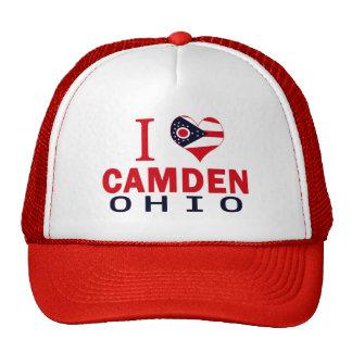 Amo Camden, Ohio Gorros Bordados