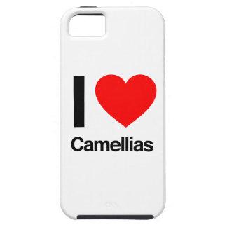 amo camelias iPhone 5 funda