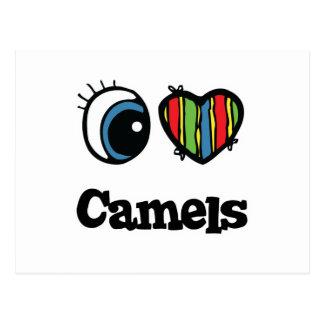Amo camellos del corazón