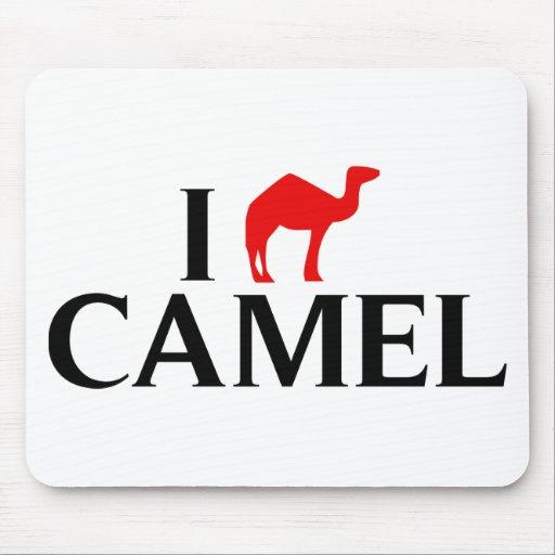 Amo camellos tapete de ratón