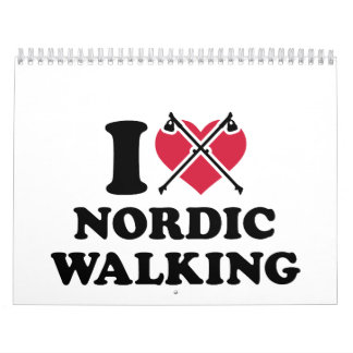 Amo caminar nórdico calendarios