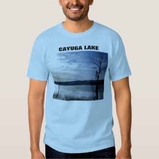 AMO camiseta de ITHACA, LAGO del CAYUGA Remeras
