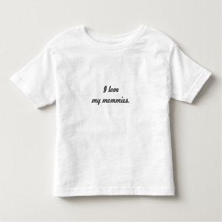 """""""Amo camiseta de mis mamás"""" Remeras"""