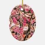 Amo Camo rosado Ornamente De Reyes