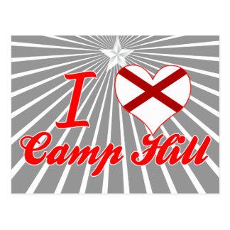 Amo Camp Hill, Alabama Tarjetas Postales