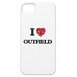 Amo campo abierto iPhone 5 funda