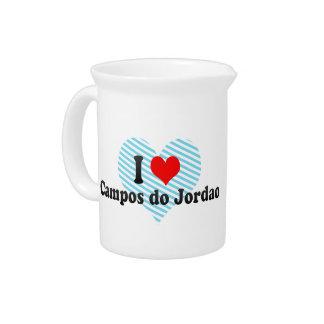 Amo Campos hago Jordao, el Brasil Jarra De Beber