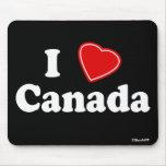Amo Canadá Alfombrilla De Raton