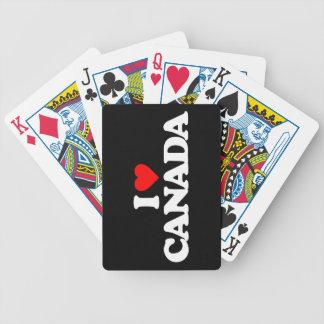 AMO CANADÁ BARAJAS DE CARTAS