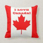 ¡Amo Canadá! Cojin