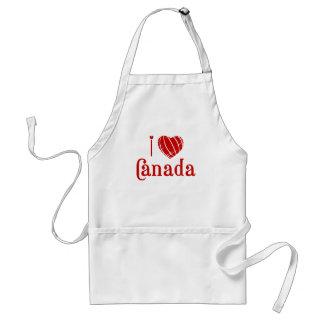 Amo Canadá Delantal