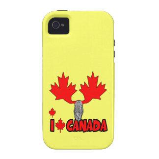 Amo Canadá iPhone 4 Carcasa