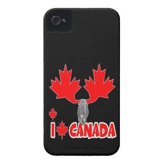 Amo Canadá Case-Mate iPhone 4 Funda