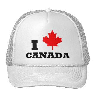 Amo Canadá Gorra