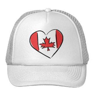 Amo Canadá Gorras