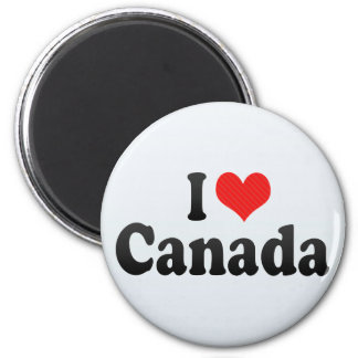 Amo Canadá Iman De Nevera