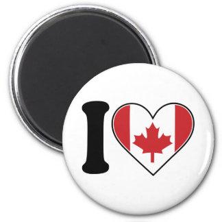 Amo Canadá Imán Para Frigorífico
