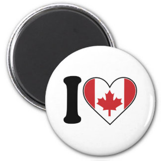 Amo Canadá Imanes Para Frigoríficos