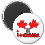 Amo Canadá Iman Para Frigorífico