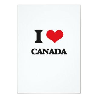 "Amo Canadá Invitación 5"" X 7"""