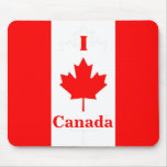 Amo Canadá Mousepad Tapete De Ratón