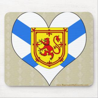 Amo Canadá Nueva Escocia Tapetes De Ratones