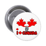 Amo Canadá Pin