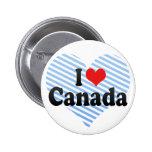 Amo Canadá Pins