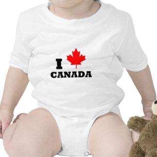 Amo Canadá Camiseta