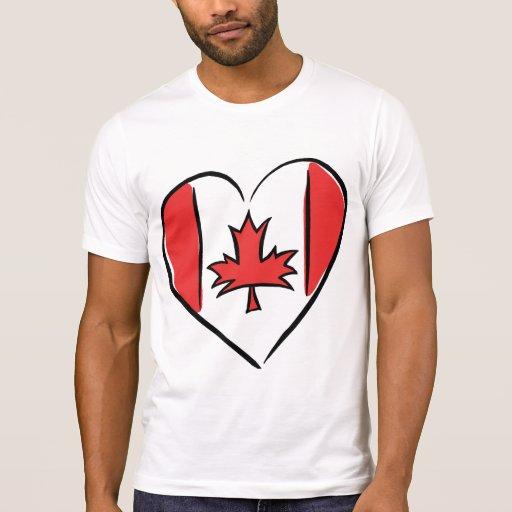 Amo Canadá Playera