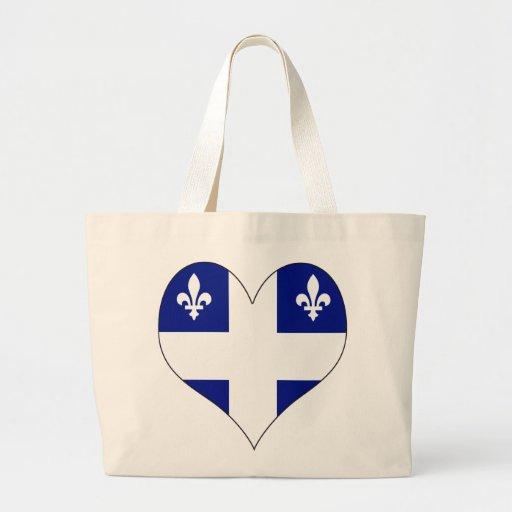 Amo Canadá Quebec Bolsas