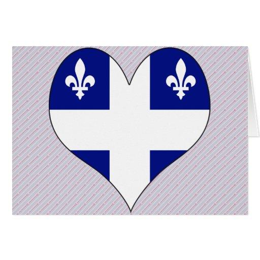 Amo Canadá Quebec Felicitacion