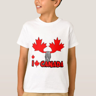 Amo Canadá Remera