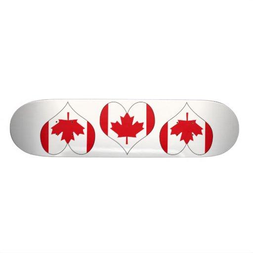 Amo Canadá Tabla De Patinar