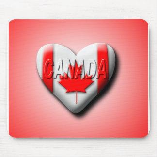 Amo Canadá Tapete De Ratón