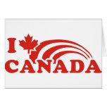 Amo Canadá Tarjetón
