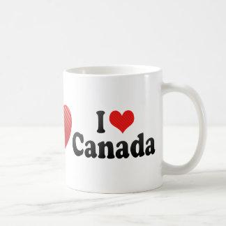 Amo Canadá Taza De Café