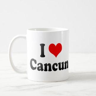 Amo Cancun, México Taza