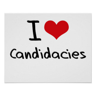 Amo candidaturas posters
