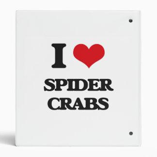 Amo cangrejos de araña