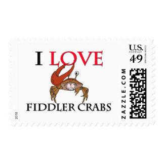 Amo cangrejos de Fiddler Envio