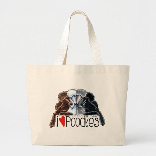Amo caniches bolsa