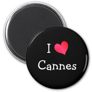 Amo Cannes Imán De Frigorífico