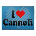 Amo Cannoli Felicitación