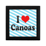 Amo Canoas, el Brasil. Eu Amo O Canoas, el Brasil Cajas De Joyas