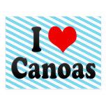 Amo Canoas, el Brasil. Eu Amo O Canoas, el Brasil Tarjetas Postales
